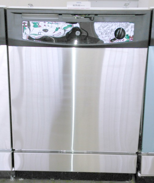 GE Built-In Stainless Steel Dishwasher $179.95